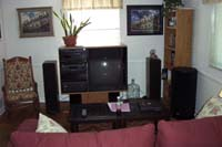 August 2002 -- the front of the room, with the SVS in place