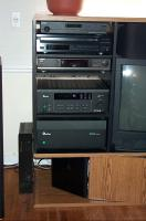March 2002 -- the equipment rack