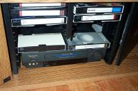 March 2002 -- The VCR in its new home